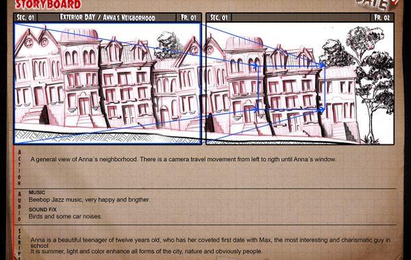 Anna´s Storyboard